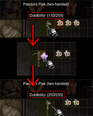 Pandora's Pick durability