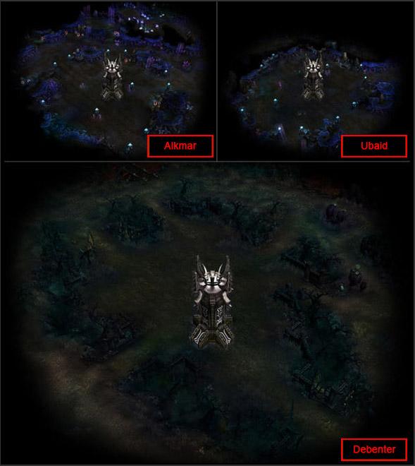 [Protector of Acheron] map