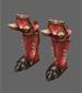 Crimson Skull Boots