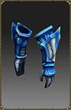 [Excellent Blue Eye Wizard Gloves]