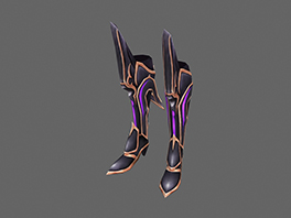 Excellent Silver Heart Elf Boots (ATK)