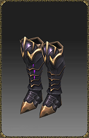 [Excellent Silver Heart Fighter Boots]