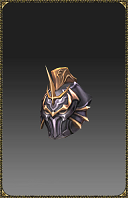 [Excellent Silver Heart Fighter Helm]