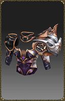 [Excellent Silver Heart Lancer Armor]
