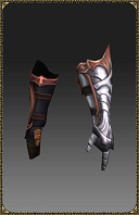 [Excellent Silver Heart Lord Gloves]