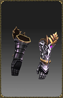 [Excellent Silver Heart Magic Gloves (ATK)]