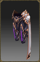Excellent Silver Heart Rune Mage Pants