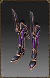 Excellent Silver Heart Slayer Boots