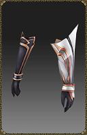 Excellent Silver Heart Slayer Gloves