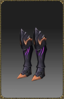 [Excellent Silver Heart Wizard Boots]