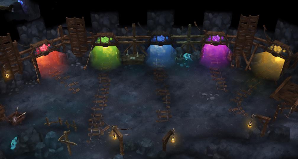 Cubera Mine map
