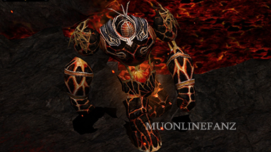Burning Lava Giant