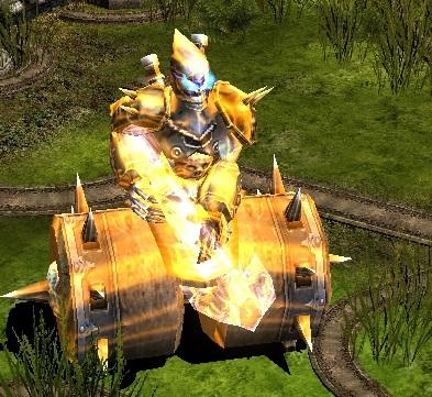 Golden Iron Wheel