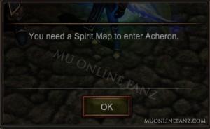 [Spirit Map] Menu
