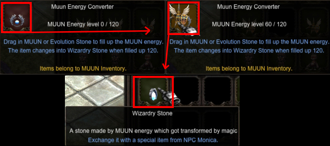 Crafting [Wizardry Stone]