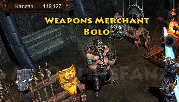 NPC Weapons Merchant Bolo
