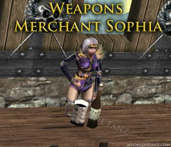 [Weapons Merchant Sophia]